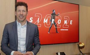 Simeone, enamorado del Atleti... hasta 2022