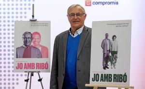 Joan Ribó presenta su candidatura a las primarias de Compromís para ser el cabeza de lista