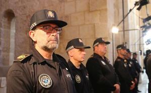 Xàtiva concede la Medalla al Sacrificio al policía Alfred Soler