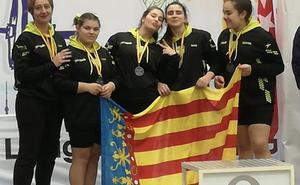 El AC Gandia de halterofilia queda subcampeón de España