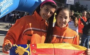 Ángela Casanova roza el podio en el Campeonato de España de marcha en ruta