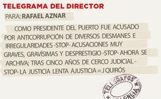 Telegrama para Rafael Aznar