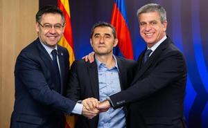 El Barcelona renueva a Valverde por una temporada, con opción a otra más