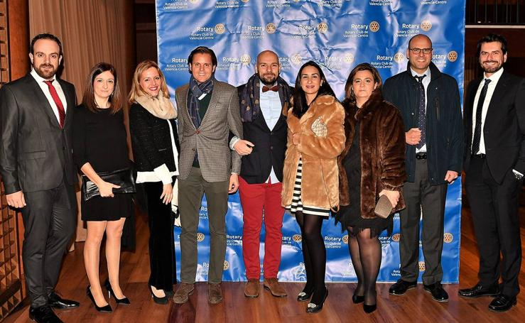 Cena benéfica del programa ALPAN en Valencia