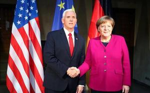 Merkel advierte de que el desarme debe incluir también a EE UU, Rusia y China