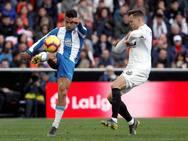 El Valencia-Espanyol, en imágenes