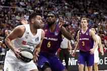 Final de Copa del Rey baloncesto: Barcelona-Real Madrid, en imágenes