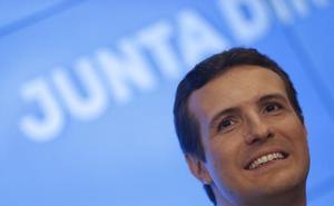 Casado pide al electorado de Cs y Vox que vote por el PP en el Senado