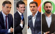 El PP logra contener la fuga de votos a Vox en Andalucía pero no frena el avance de Ciudadanos