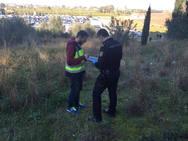 Hallan restos humanos cerca del Hospital de la Ribera