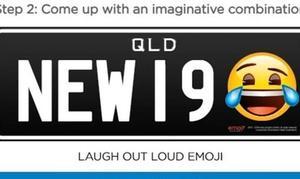 Los australianos de Queensland podrán poner emoticonos en las matrículas