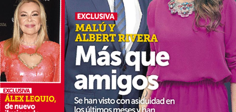 Albert Rivera y Malú, ¿pareja sorpresa?