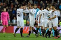 El Valencia CF- Celtic FC en imágenes