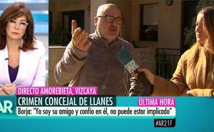 La discusión en directo de Ana Rosa Quintana y un amigo del detenido por el crimen de Llanes