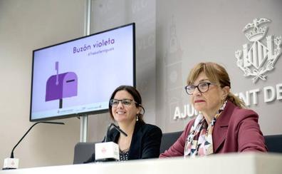 Valencia instala el buzón violeta