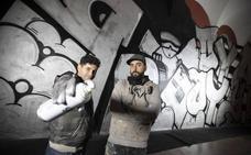 Los mil metros de grafiti en el claustro del Centro del Carmen acaban en los juzgados