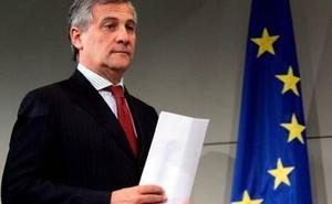 Tajani prohíbe una conferencia de la Falange en la Eurocámara por razones de «seguridad» y «dignidad»