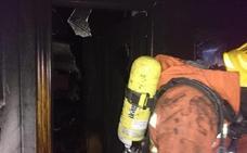 Ocho atendidos en el incendio de un hotel en el casco urbano de Benidorm