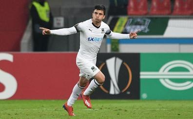 El Krasnodar, rival del Valencia en octavos