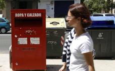 ¿Cuáles son los contenedores de ropa usada autorizados en Valencia?