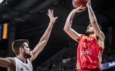 Abalde y Brizuela se lucen en la victoria de España