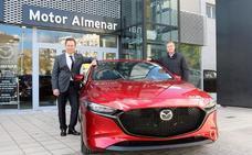 El nuevo Mazda 3 híbrido, en Almenar