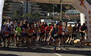 600 corredores en la X edición de la Carrera de los Árboles y Castillos
