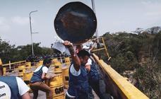 Disturbios en la frontera entre Brasil y Venezuela