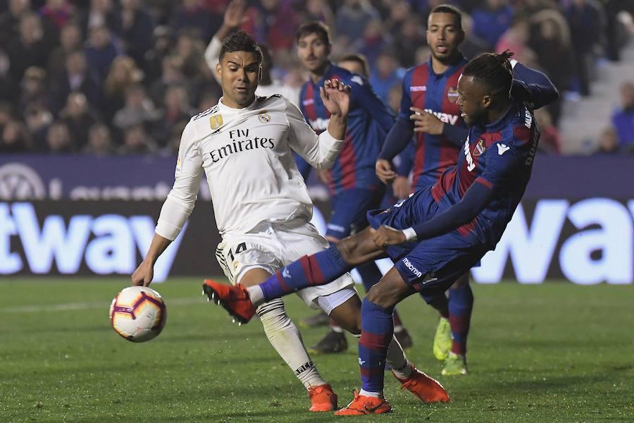 El Levante-Real Madrid en imágenes