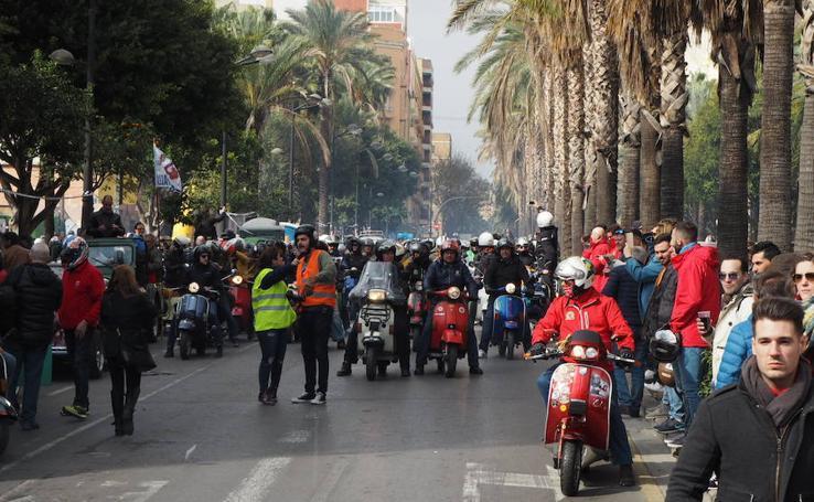 Concentración de Vespas y Lambrettas Vespalafalla 2019