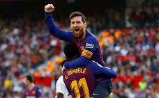 Messi reactiva al Barça antes de los dos clásicos