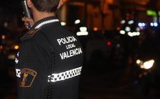 Detenido un hombre por agredir a su pareja a la salida de una discoteca de Patraix