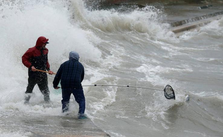 Fuerte temporal de viento en Malta