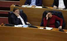 Caras largas en Podemos y Compromís ante el ambiente de adelanto electoral en Les Corts