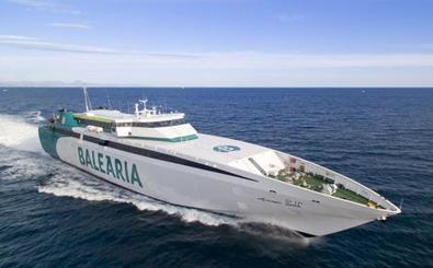 Baleària conectará Dénia y Formentera en menos de dos horas con el remotorizado fast ferry 'Ramon Llull'