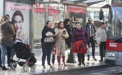El comité de empresa de la EMT propondrá dos días de paros en Fallas