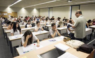 La nota media de los estudiantes valencianos en la Selectividad de 2018, entre las cuatro peores de España