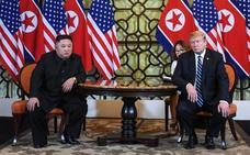 Se rompe la cumbre entre Trump y Kim Jong-un para el desarme nuclear de Corea del Norte