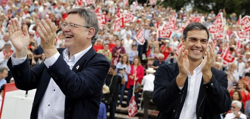 El CIS autonómico consolida a los socialistas como primera fuerza en la Comunitat y aumenta sus apoyos hasta el 28,2%