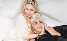 Madonna y Lady Gaga, tan amigas