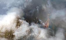 Peñarroja inaugura la catedral de la Pólvora con mazazo final