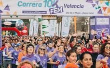 Recorrido de la 10K Femenina y calles cortadas en Valencia