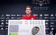 La ONCE se suma al Centenario del Valencia CF