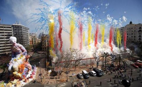 Revive todas las mascletaes de las Fallas 2019