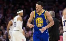 Los Warriors acaban con los Sixers y Los Lakers decepcionan de nuevo