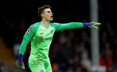 Kepa regresa a la titularidad contra el Fulham