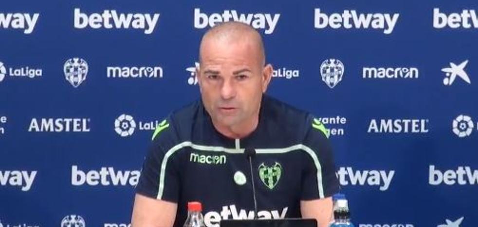Paco Lopez: «He encontrado bien de ánimo a Toño, es una noticia extraordinaria»