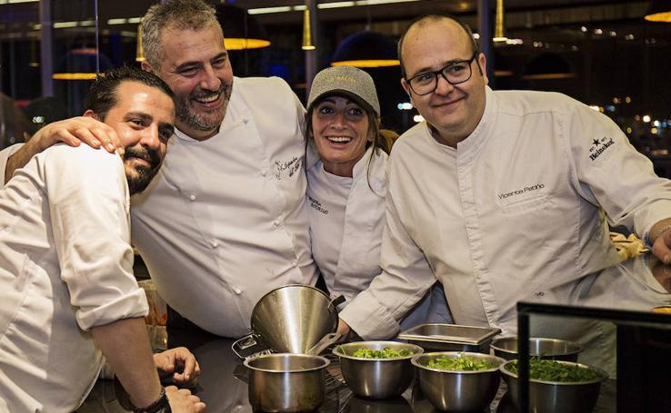 Diez de los mejores chefs de la Comunitat, entre fogones