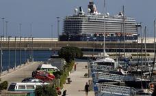 Evacúan a un pasajero de un crucero alemán que viajaba a Valencia