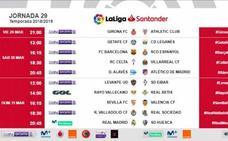 LaLiga estrena nuevo horario en la jornada 29